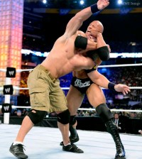 The Rock John Cena WrestleMania 29
