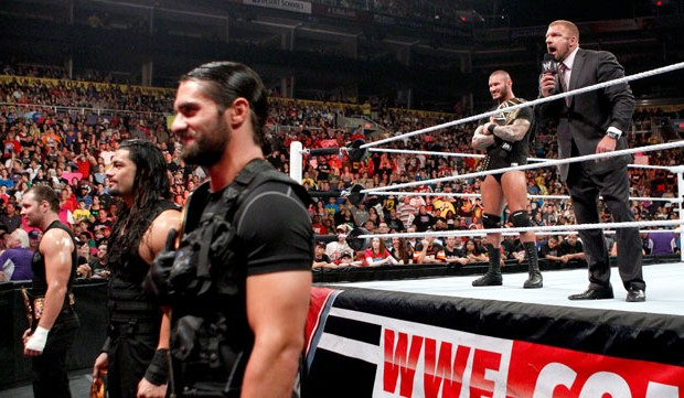 RAW The Shield