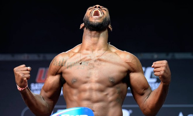 Jon Jones UFC Weigh-In