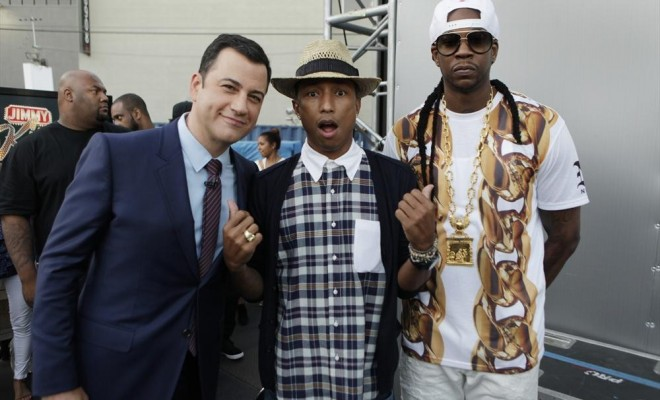 JIMMY KIMMEL, PHARRELL WILLIAMS, 2CHAINZ
