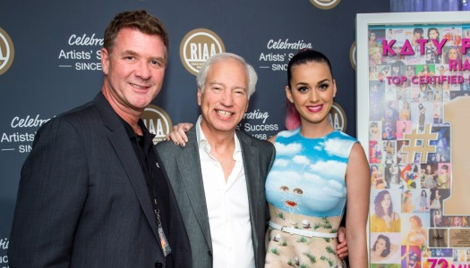 "Katy Perry's ""Roar"" Scores 9x Platinum Certification in the United States"
