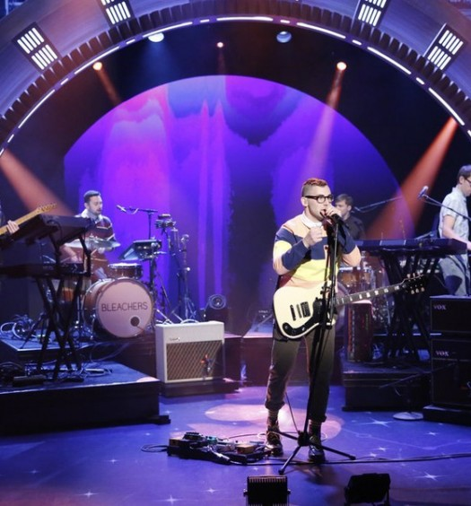 Bleachers on Late Night with Seth Meyers