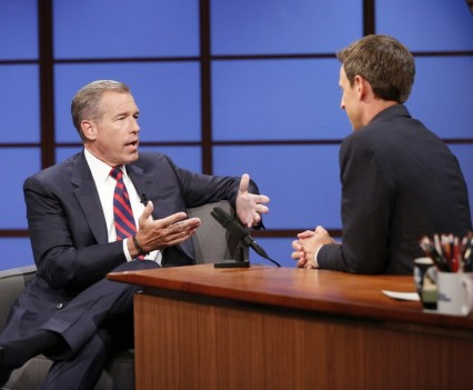 Brian Williams - Late Night - NBC Image
