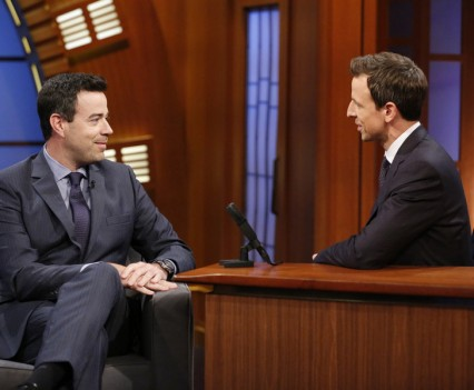 "Carson Daly on NBC's ""Late Night"""
