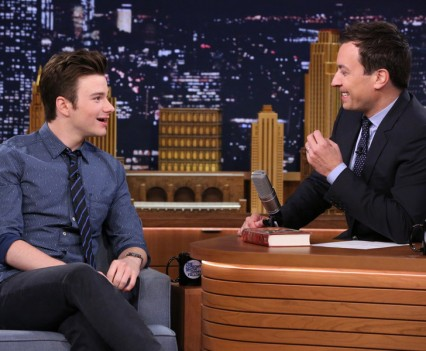 Chris Colfer - Tonight Show - NBC