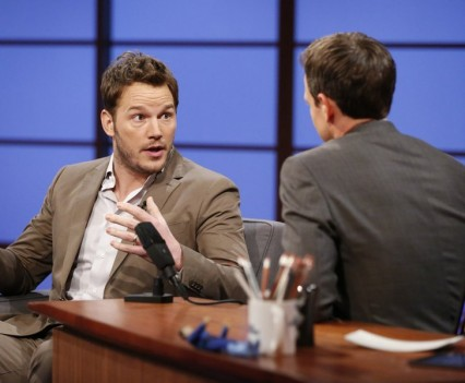 Chris Pratt - Late Night