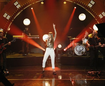 "Christina Perri on NBC's ""Late Night"""