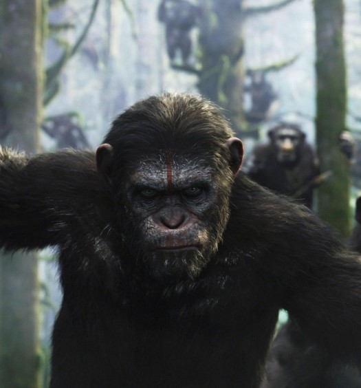 Official Dawn of the Planet of the Apes image via 20th Century Fox