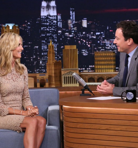 Heidi Klum - The Tonight Show