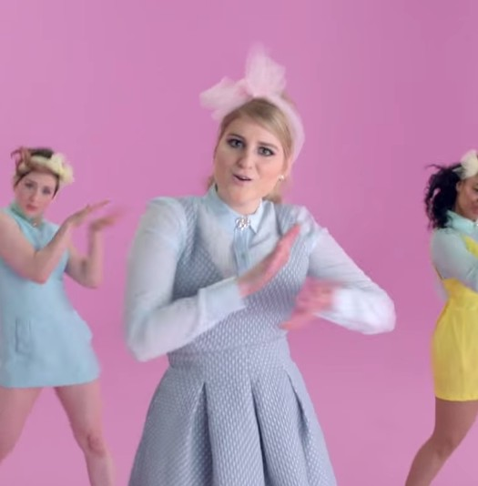 "Meghan Trainor in ""All About that Bass"""