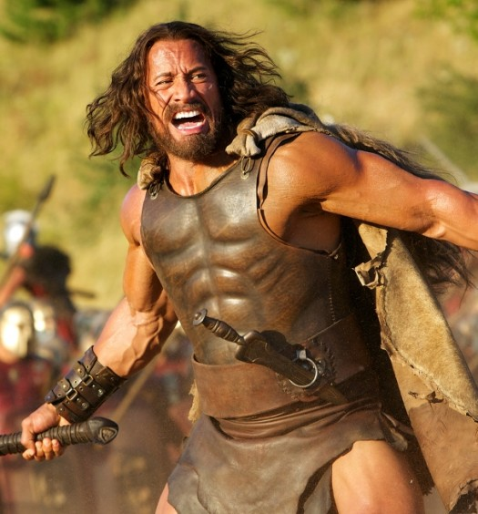 "Dwayne ""The Rock"" Johnson - Official ""Hercules"" Photo"