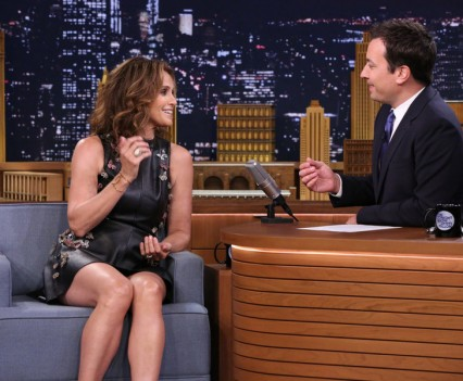Amy Brenneman on NBC's Tonight Show