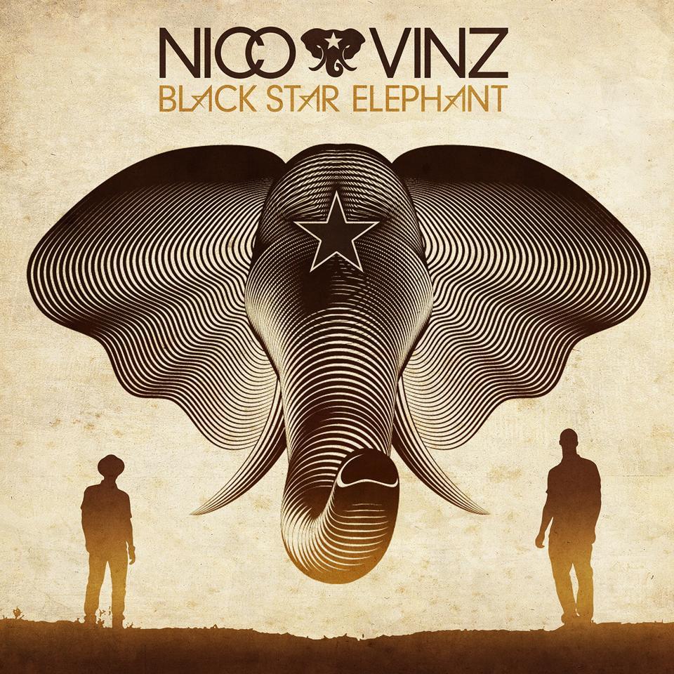 """Nico and Vinz Reveal Cover for """"Black Star Elephant"""" Album"""