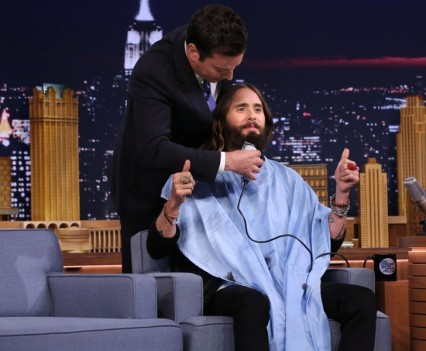 Jared Leto on NBC's Tonight Show
