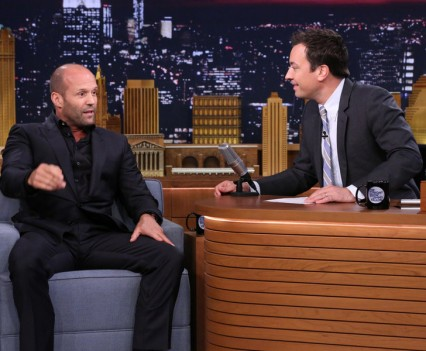 Jason Statham - Tonight Show - NBC Image