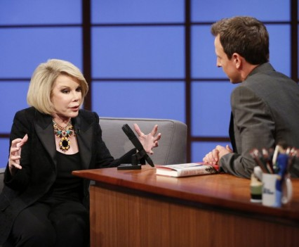 NBC Image - Joan Rivers on Late Night