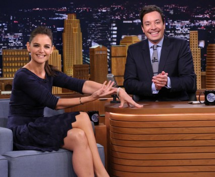 Katie Holmes - Tonight Show (NBC Image)
