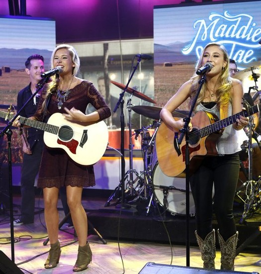 Maddie and Tae on TODAY