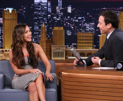 Megan Fox on The Tonight Show - NBC