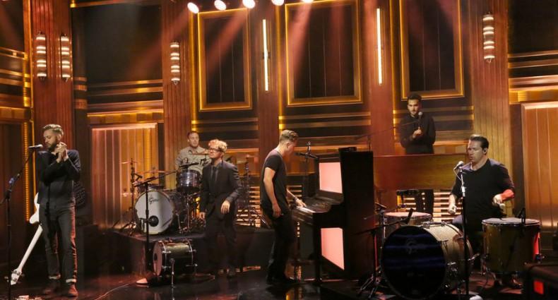 OneRepublic - Tonight Show (NBC Image)