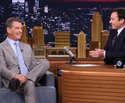 Pierce Brosnan - Tonight Show