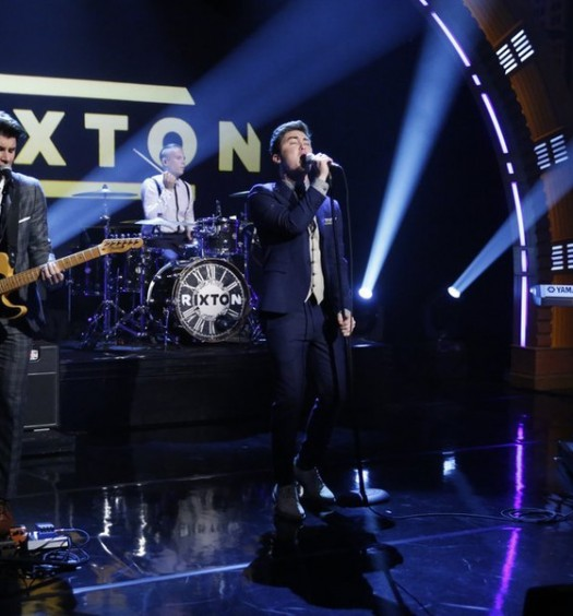 NBC Image - Rixton on Late Night