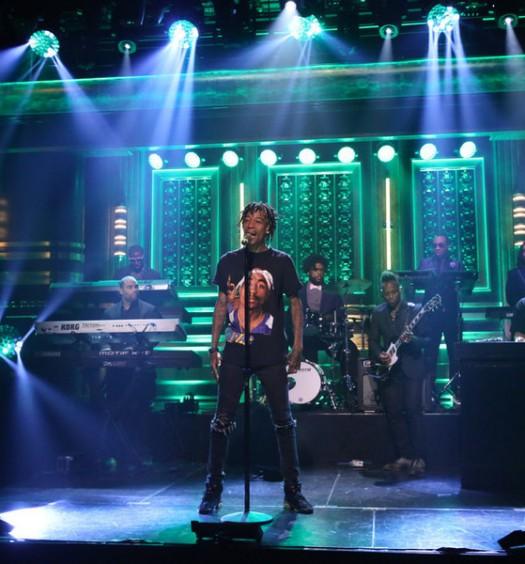 Wiz Khalifa on The Tonight Show - NBC