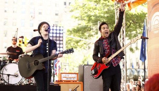 "Fall Out Boy, Olly Murs to Perform on NBC's ""TODAY"" Show"