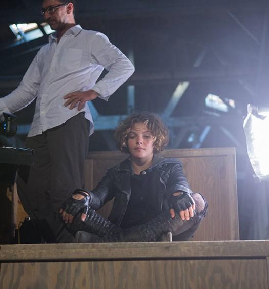 FOX BTS - Gotham 1x02 - 4