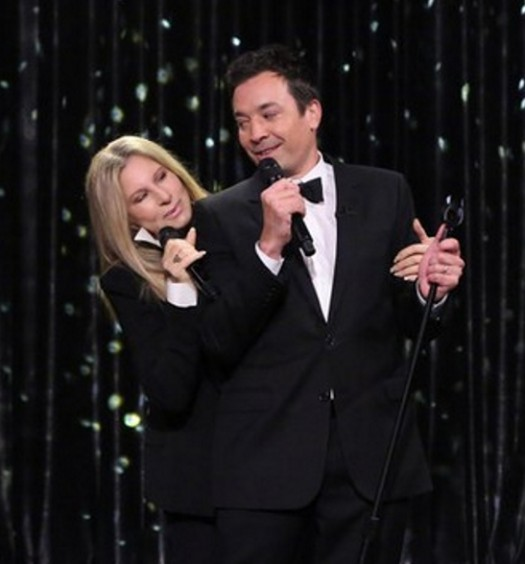 Jimmy Fallon Barbra Streisand