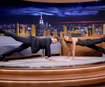 Gisele Bundchen - Tonight Show