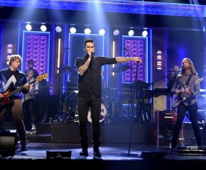 Maroon 5 - Tonight Show - NBC Image