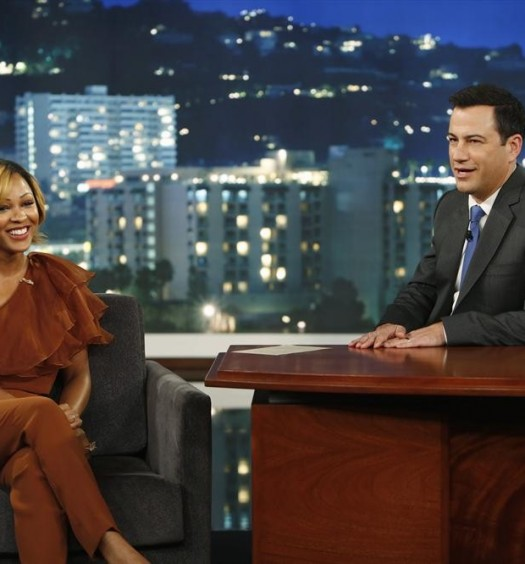 MEAGAN GOOD, JIMMY KIMMEL