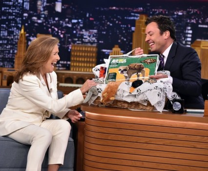 Meredith Vieira - Tonight Show - NBC Image