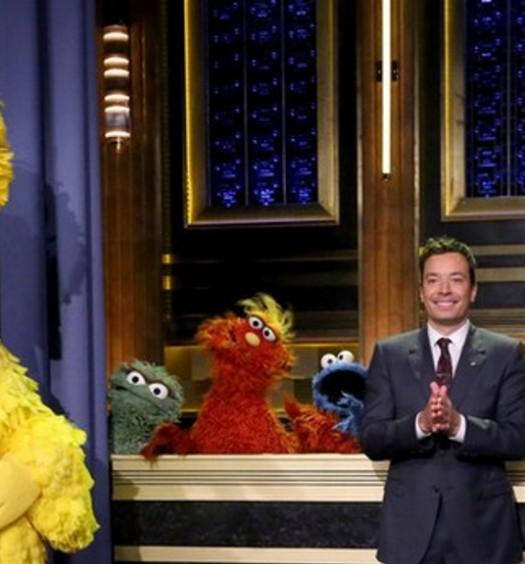 Sesame Street Jimmy Fallon