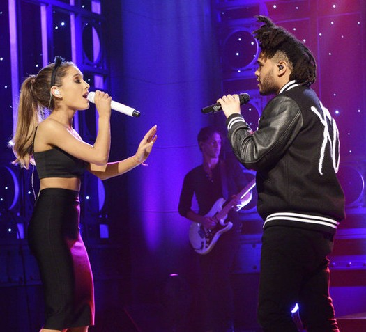 "Ariana Grande and The Weeknd perform ""Love Me Harder"""