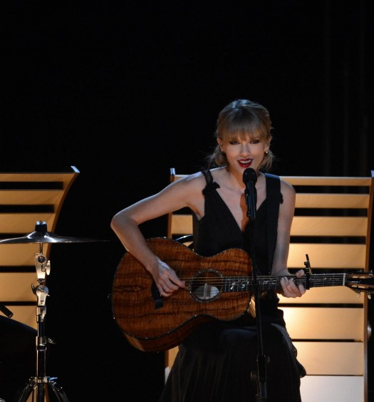 "ABC Image - Taylor Swift travels to the 80s--and to her roots--on ""Out of the Woods"""