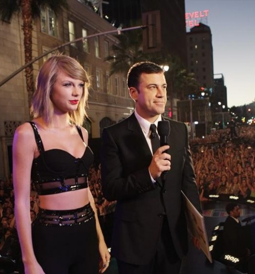 TAYLOR SWIFT, JIMMY KIMMEL