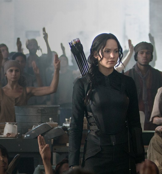 Official Hunger Games promo image