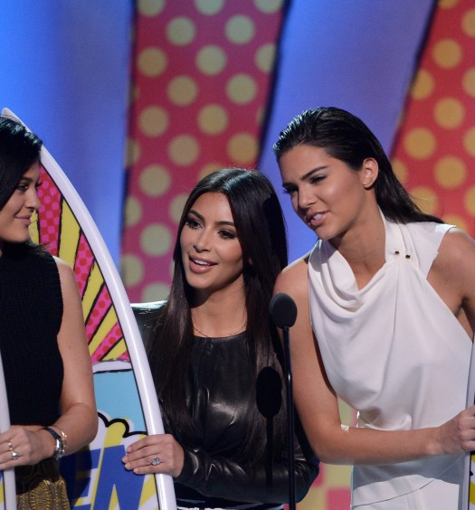 Kendall Kim Kylie Teen Choice