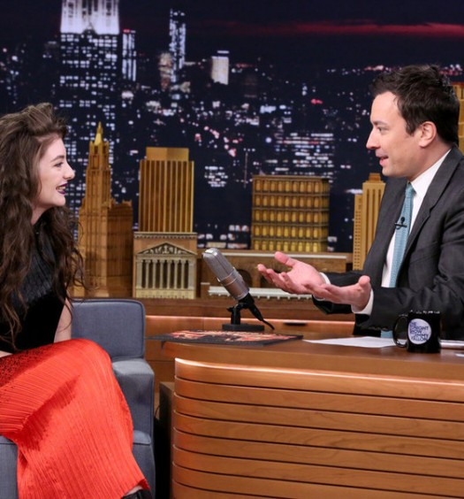Lorde - Tonight Show (NBC)