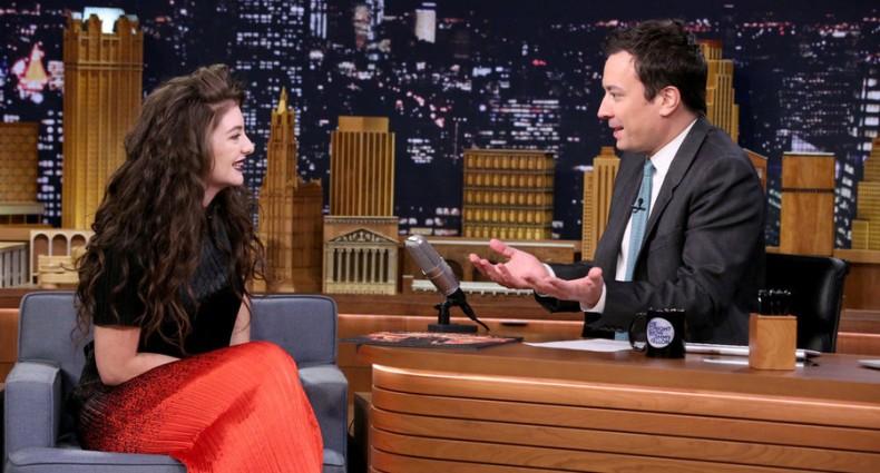 Lorde - Tonight Show (NBC)