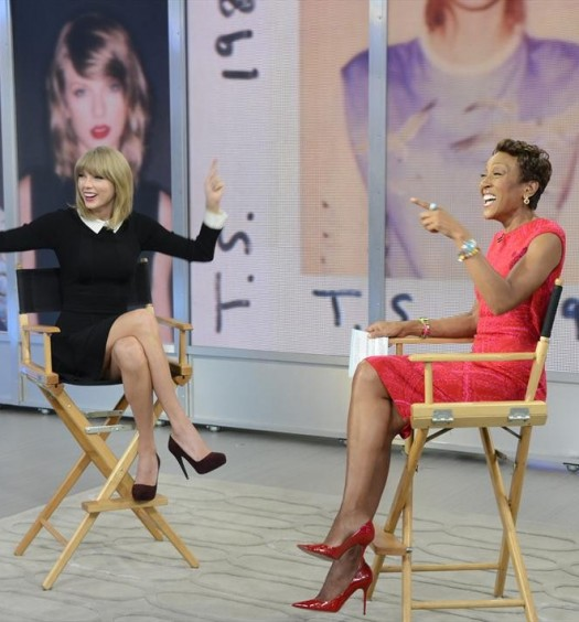 TAYLOR SWIFT, ROBIN ROBERTS