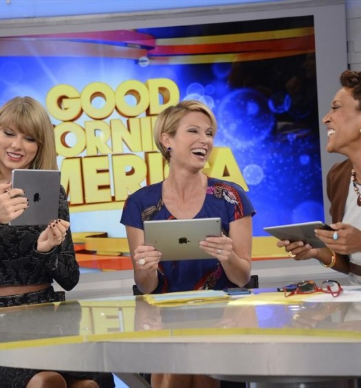 TAYLOR SWIFT, AMY ROBACH, ROBIN ROBERTS