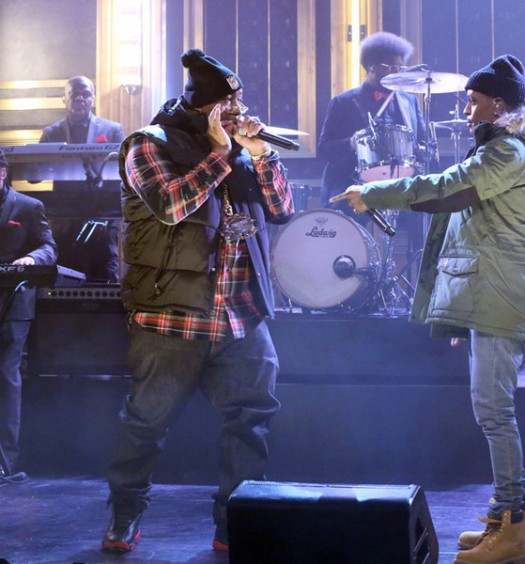 Big Sean and E-40 - Tonight Show (NBC Image)