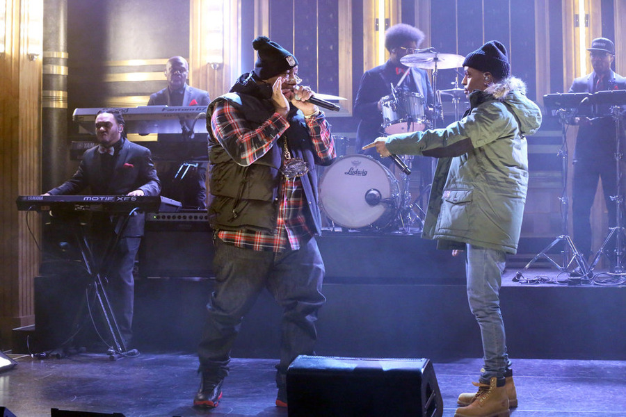 Big sean e40 tonight show