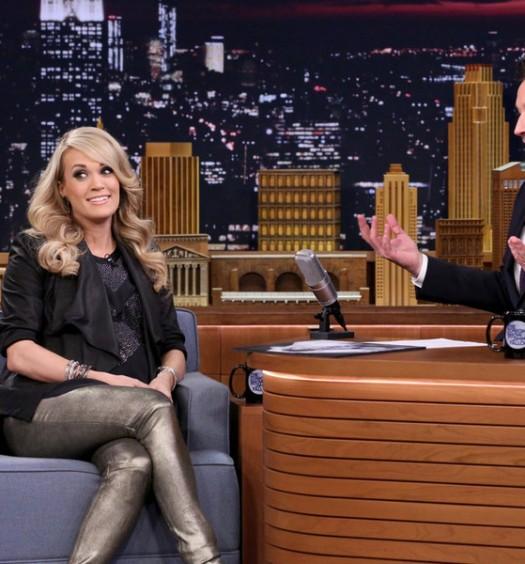 Carrie Underwood - Tonight Show (NBC)