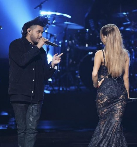 THE WEEKND, ARIANA GRANDE