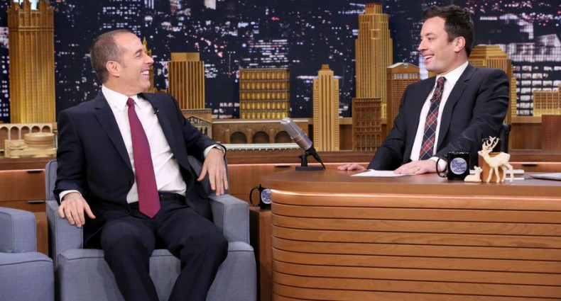 Jerry Seinfeld - Tonight Show (NBC Image)
