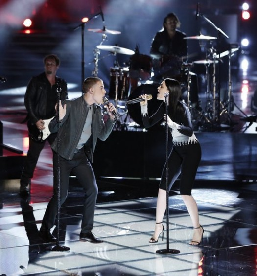 Jessie J and Chris Jamison - The Voice